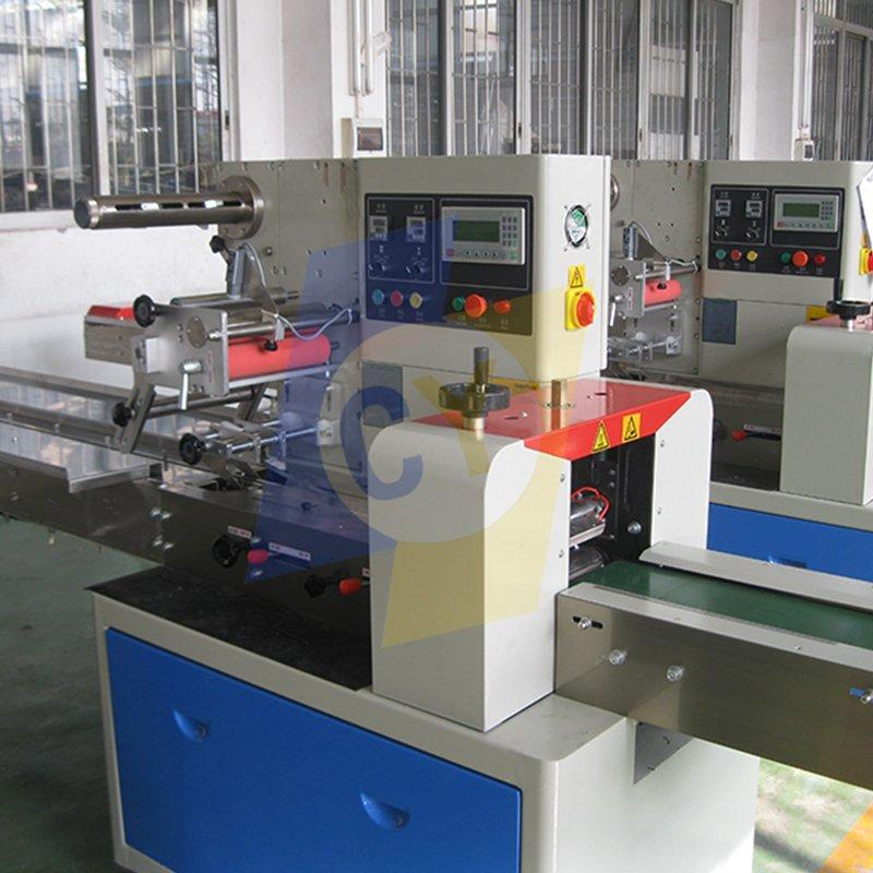 CY-250B 250D Bread/Biscuit candy/Face mask/Popsicle/Granola bar food Pillow Packing Machine