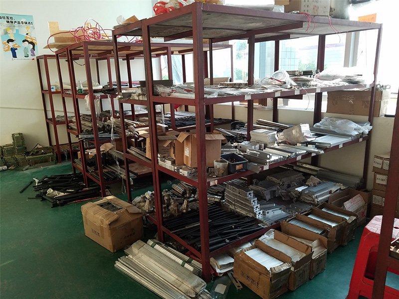 Accessories Warehouse Area