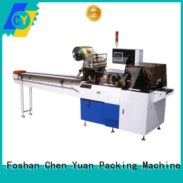cy450w flow wrap machine for sale supplier for sanitary napkin ChenYuan