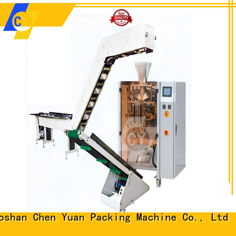 ChenYuan metal pouch packing machine price series for measuring