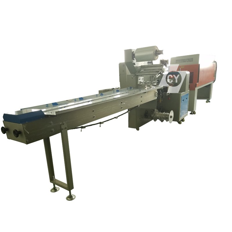 ChenYuan CY-350 Heating Shrink film automatic wrapping machine Shrink film automatic wrapping machine image11