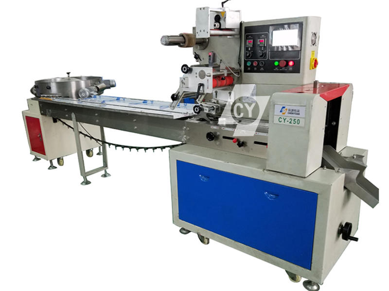 automatic sorting and packing machine video CY-250