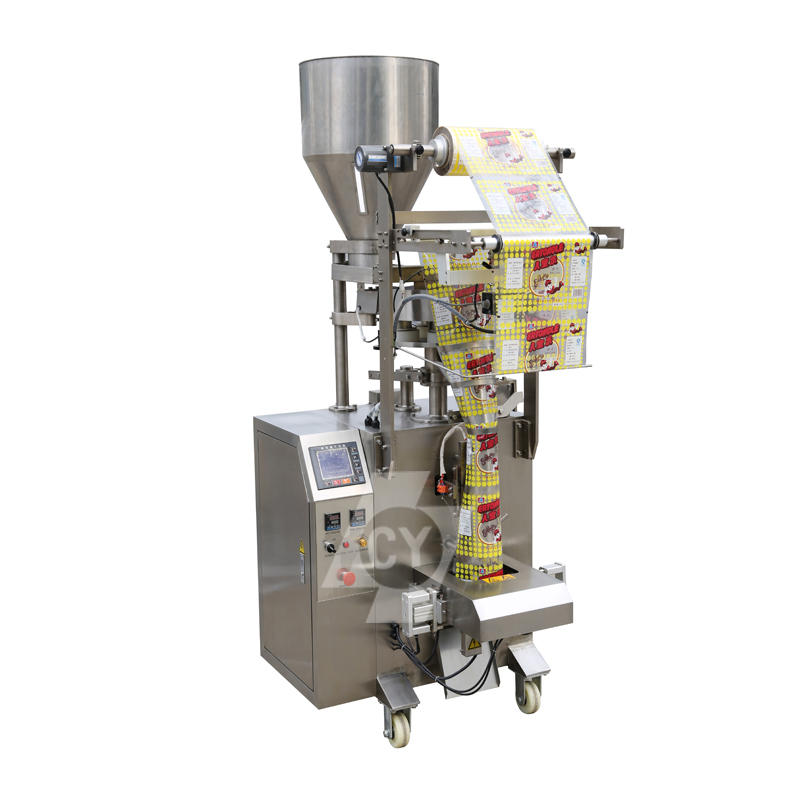 Rice/Peanuts/Sugar etc food granule full automatic packing machine with measuring cup DLP-320A