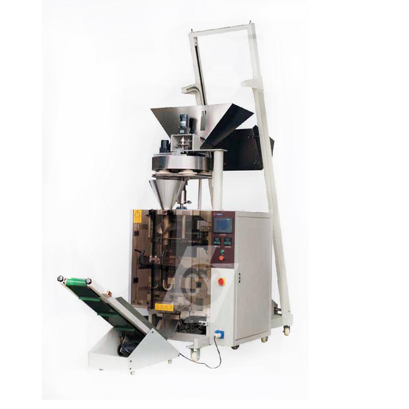 Volumetric cup metering automatic vertical packing machine DC-4230B