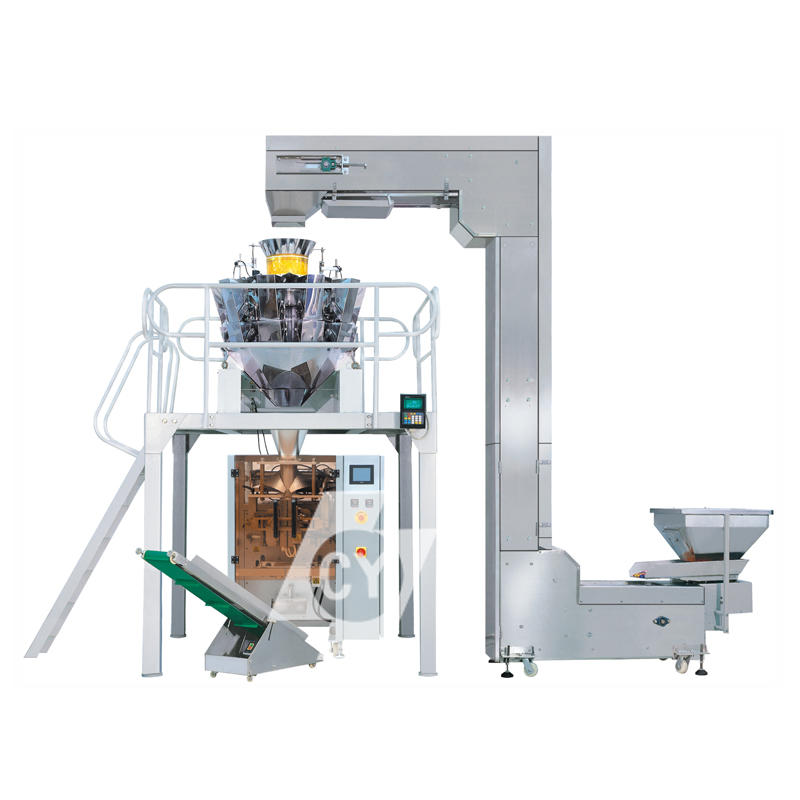 Full automatic packing machine combined with multi-heads weigher DC-4230A/5235A