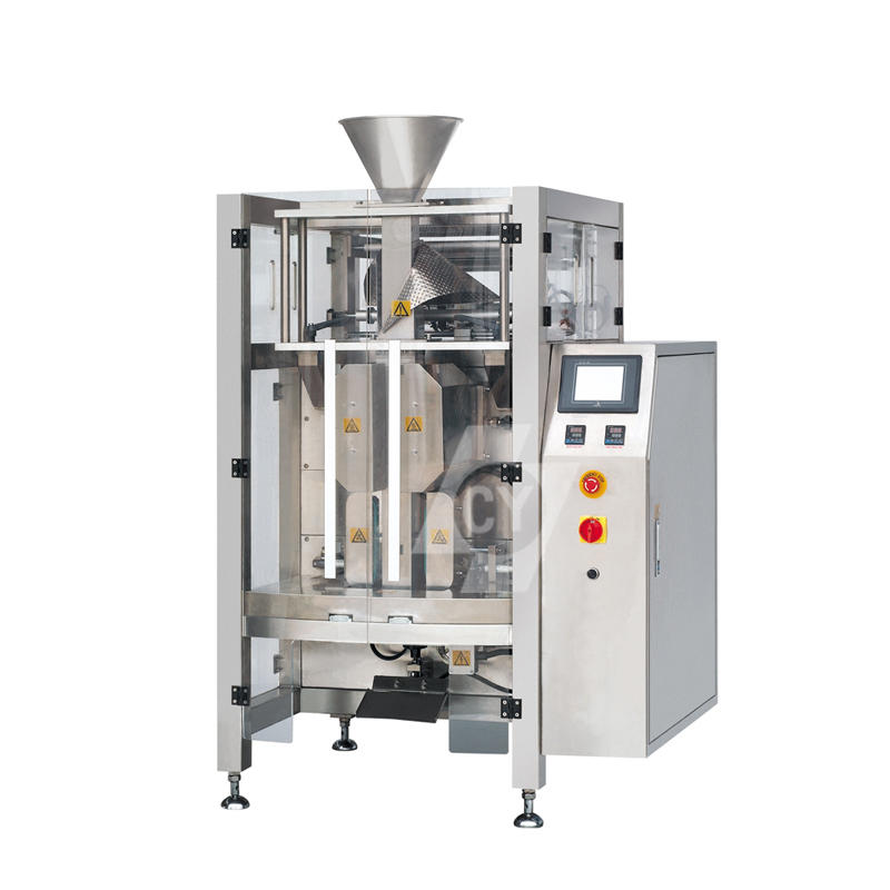 BDP-420/520 type 4 sides sealing form vertical packing machine with multi-head weigher/volumetric cups/powder screw filler