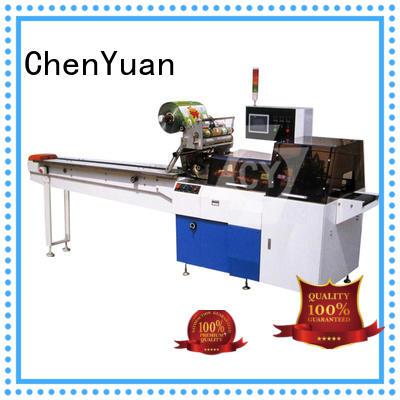 Horizontal Design ChenYuan Brand flow pack machine price