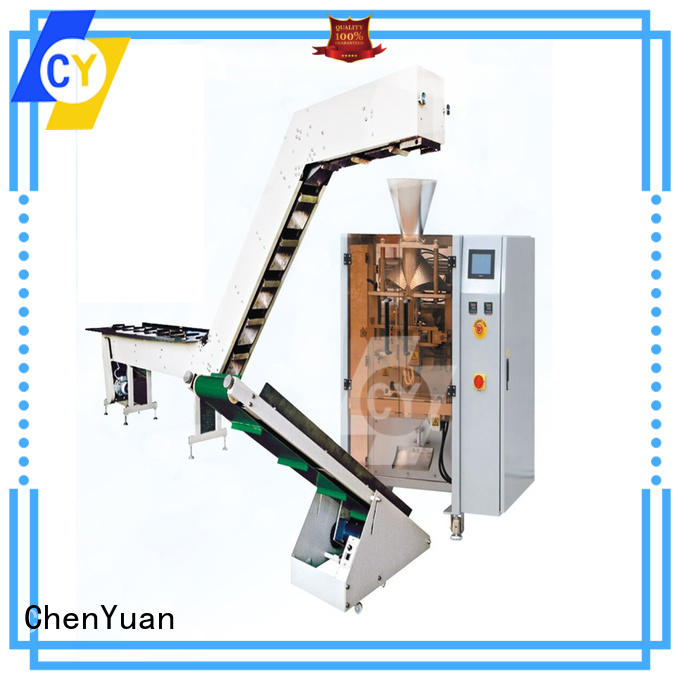 ChenYuan automatic vertical form fill seal machine and methods series for cutting