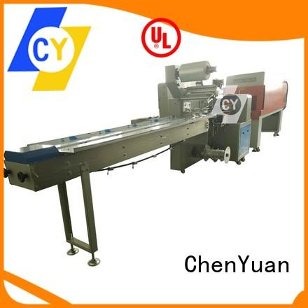 ChenYuan automatic shrink packaging systems heating for stainless steel for pipe