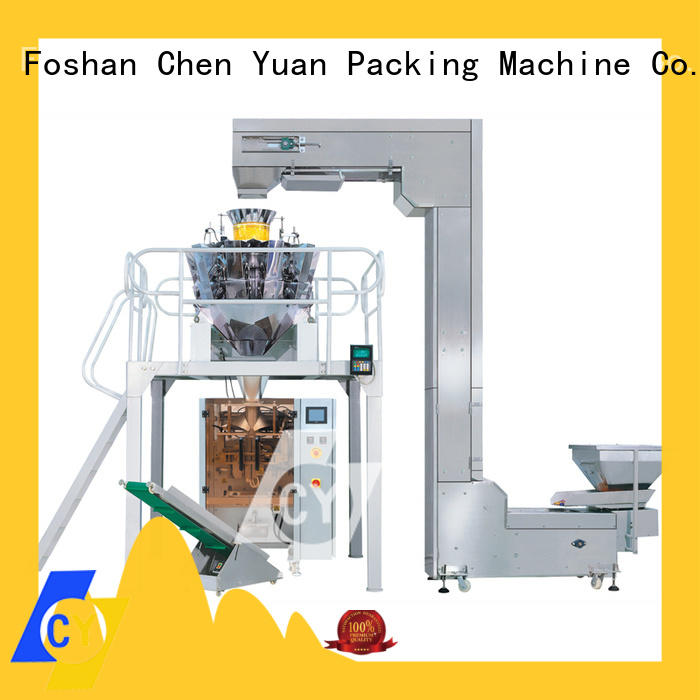 ChenYuan granule vertical form fill seal manufacturer for cutting