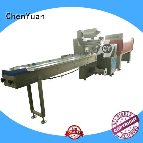 automatic small shrink wrap machine wrapping for hardware ChenYuan