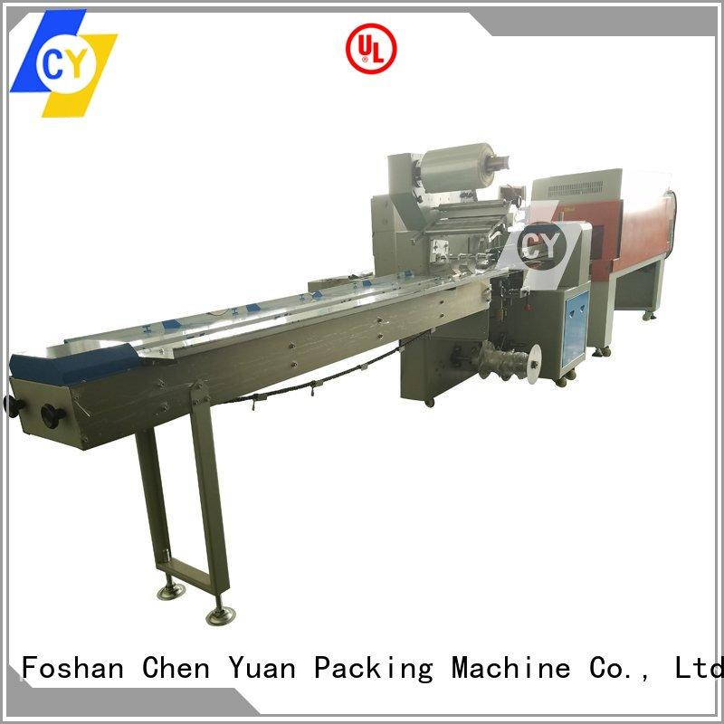 ChenYuan electric industrial shrink wrap machine online for cosmetics