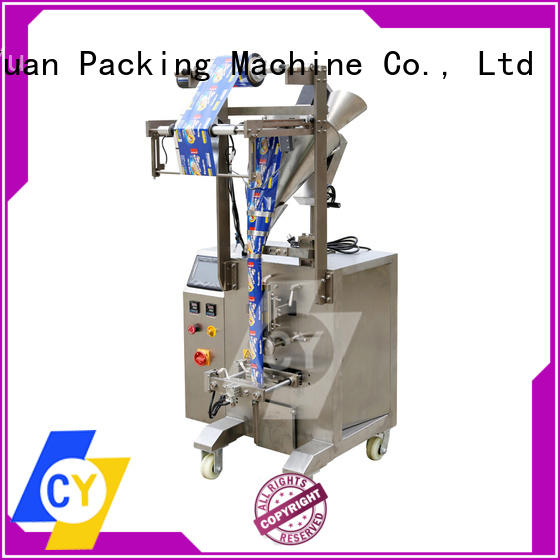 ChenYuan semiautomatic vertical packing machine online for filling