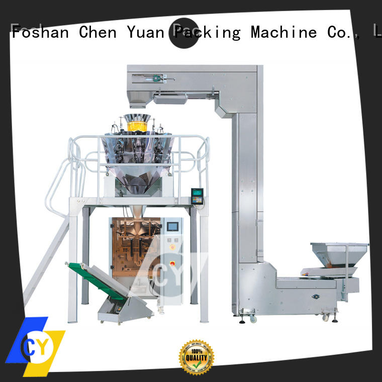 ChenYuan vertical packaging machine online for cutting