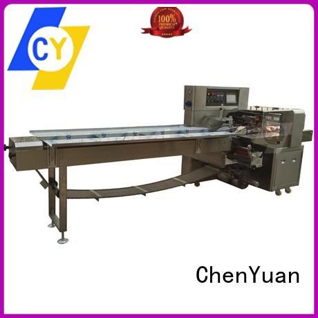 ChenYuan horizontal flow wrap machine series for fruits