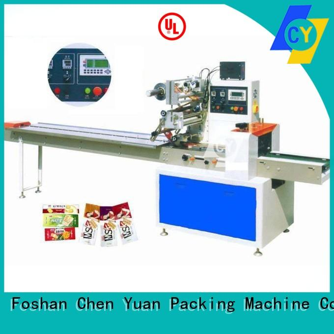 ChenYuan precise tissue paper packing machine manufacturer for vegetables