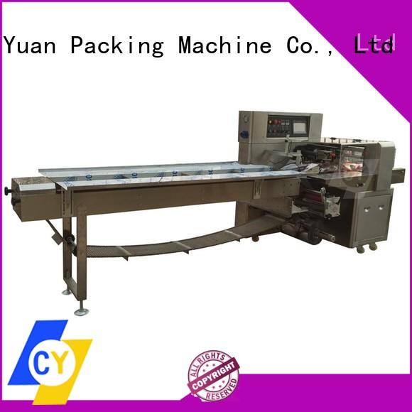 ChenYuan high quality chocolate bar packaging machine online for vegetables