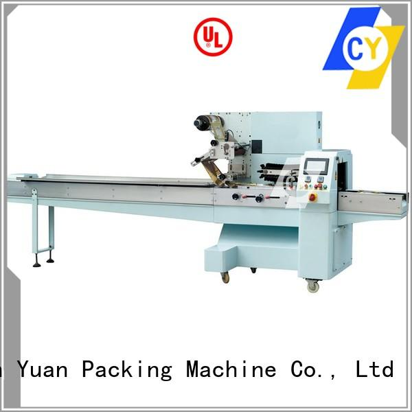 ChenYuan best horizontal packaging machine series for tortillas