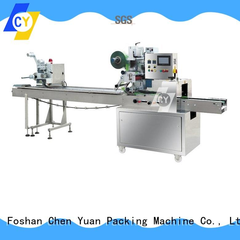 ChenYuan pillow flow pack wrapping machine wholesale for fruits