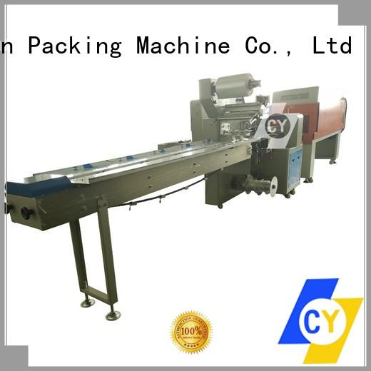 ChenYuan electric shrink packing machine factory price for wooden panel