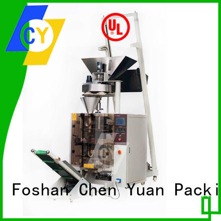 ChenYuan automatic vertical packing machine online for cutting