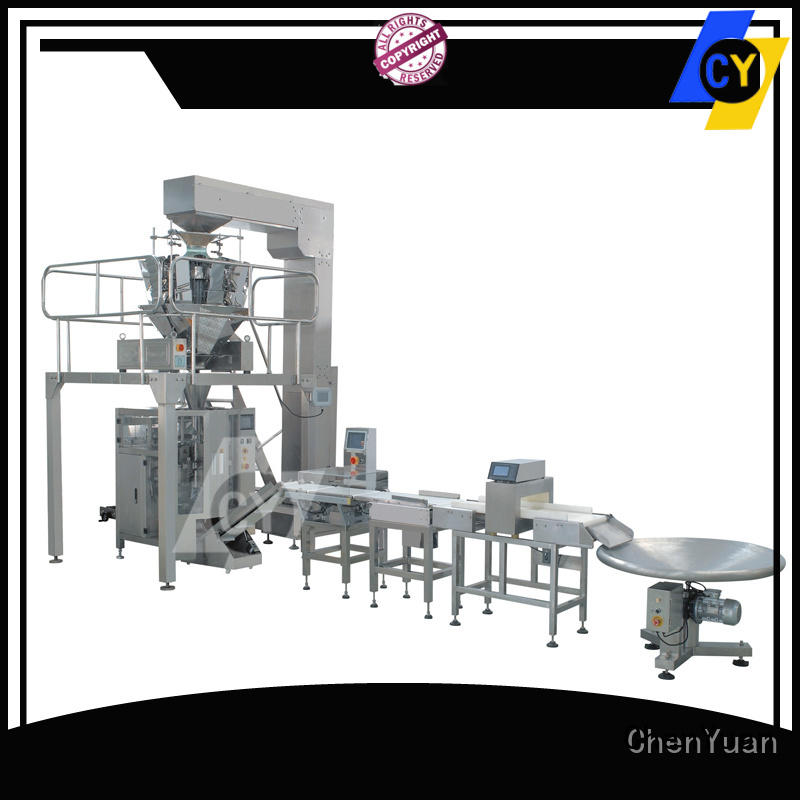 ChenYuan sides vertical form fill seal machine and methods online for sealing