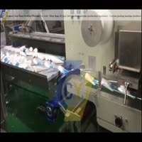 Facial foam packing machine